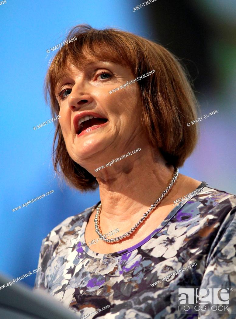 Stock Photo: Tessa Jowell MP Shadow Secretary Of State For The Cabinet Office Labour Party Conference 2011 The Aac, Liverpool, England 28 September 2011.