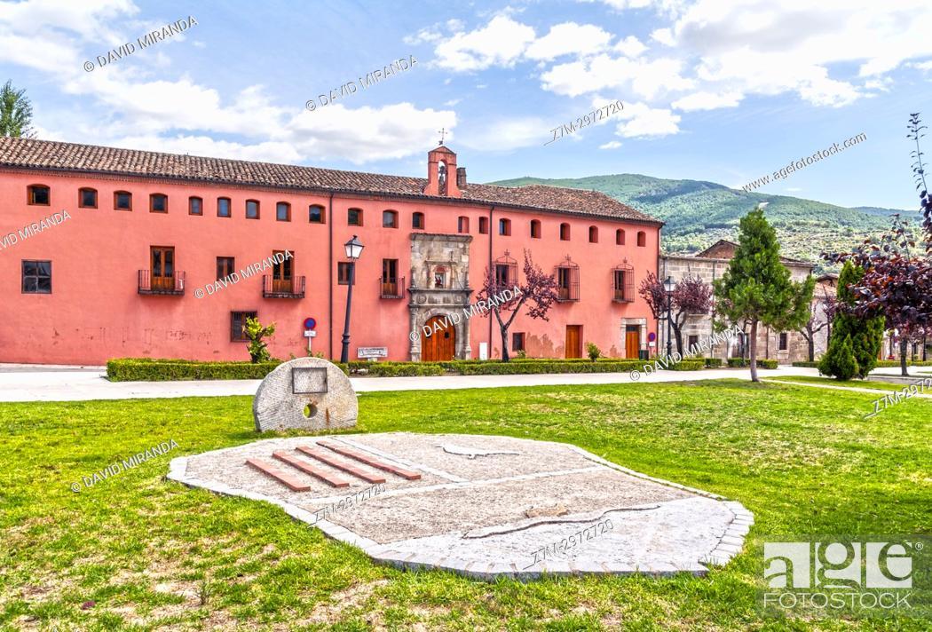 Stock Photo: Hospital de San Andrés. Mombeltrán. Barranco de las cinco villas. Valle del Tiétar. Provincia de Ávila, Castile-Leon, Spain.