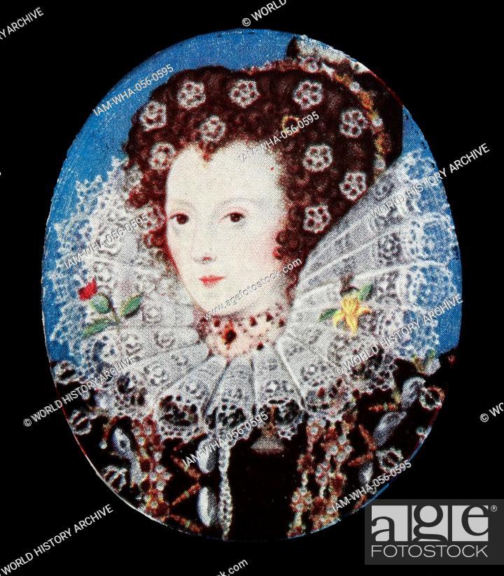 Portrait of Queen Elizabeth 1  Elizabeth 1 was Queen of England and