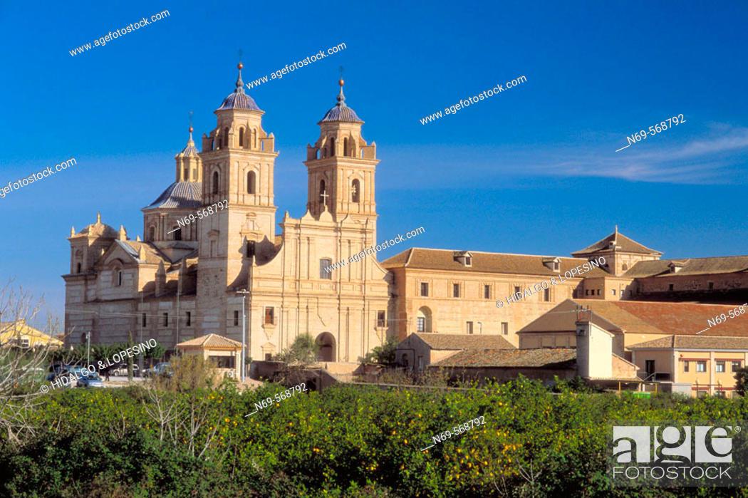 Stock Photo: Guadalupe. Jerónimos monastery. XVIIth century. Murcia province. Spain.