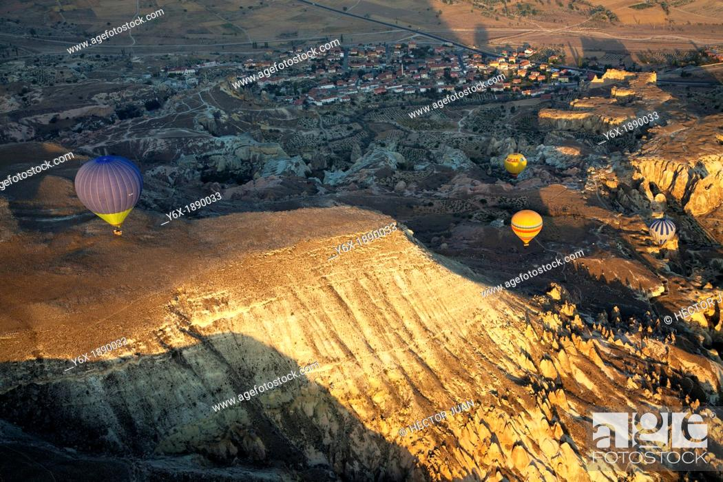 Stock Photo: Fly in Cappadocia.