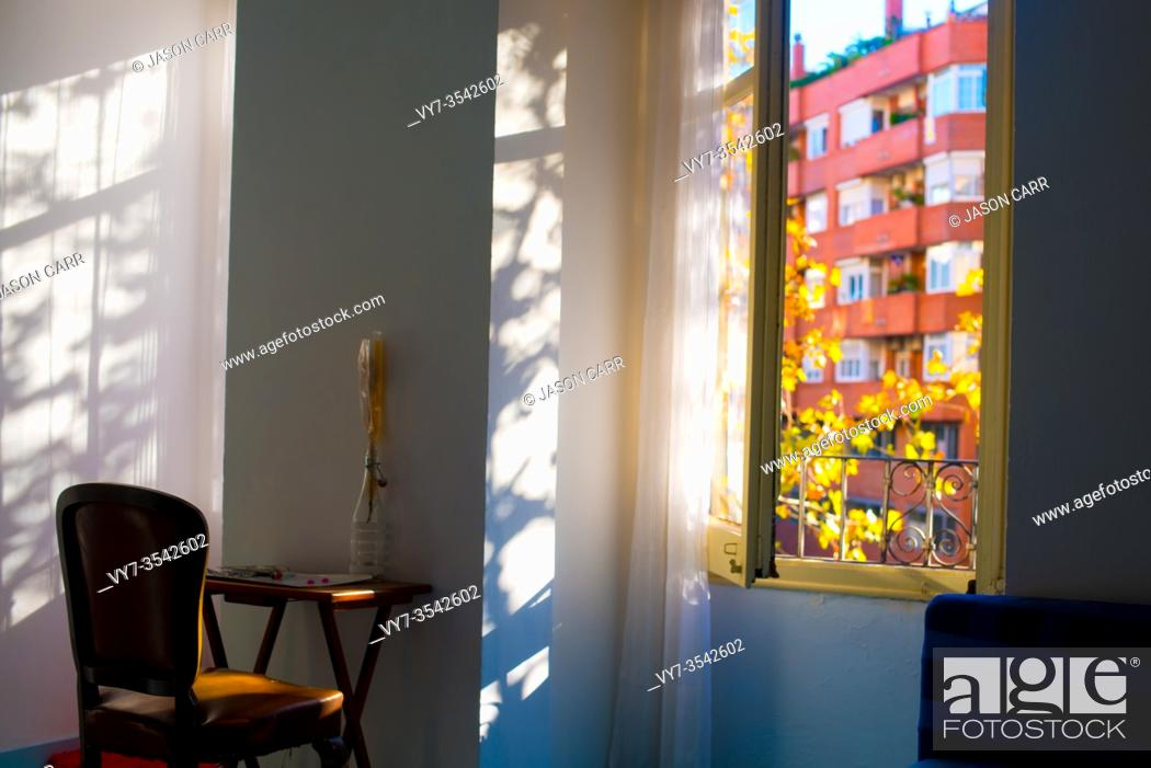 Stock Photo: European theme Interiors in Barcelona, Spain. Barcelona is known as an Artistic city located in the east coast of Spain.