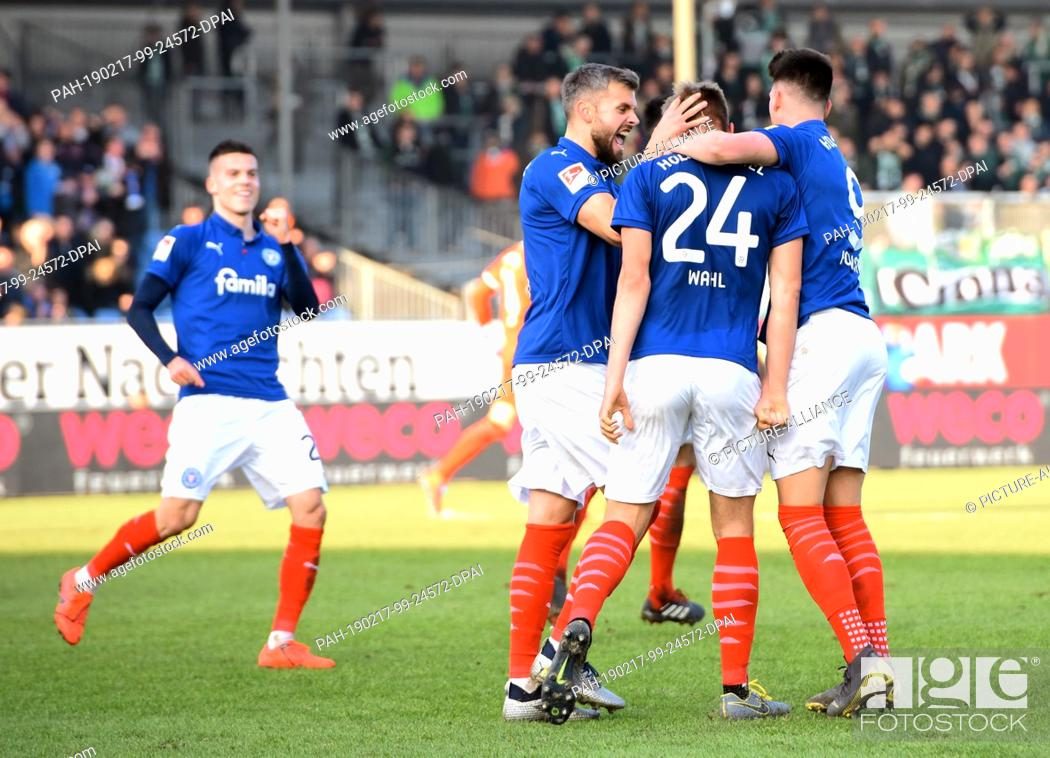 17 February 2019 Schleswig Holstein Kiel Soccer 2nd Bundesliga Stock Photo Picture And Rights Managed Image Pic Pah 190217 99 24572 Dpai Agefotostock