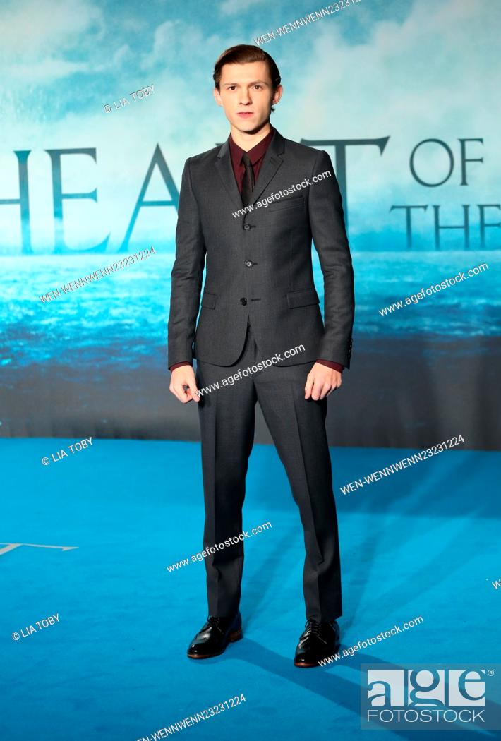 In the Heart of the Sea UK premiere - Arrivals Featuring