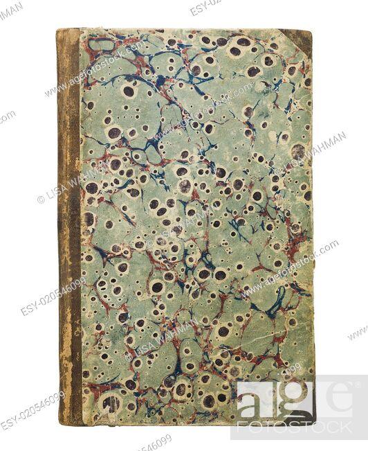 Stock Photo: Antique Book.