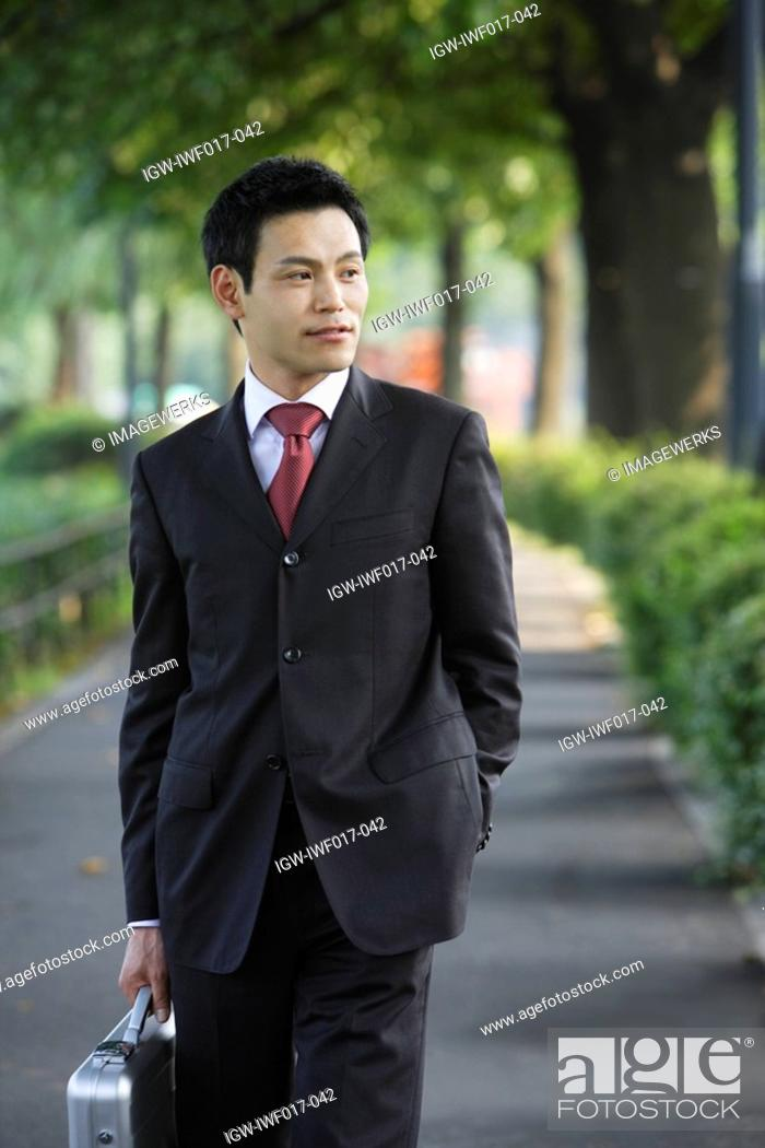 Stock Photo: A well-dressed businessman, portrait.