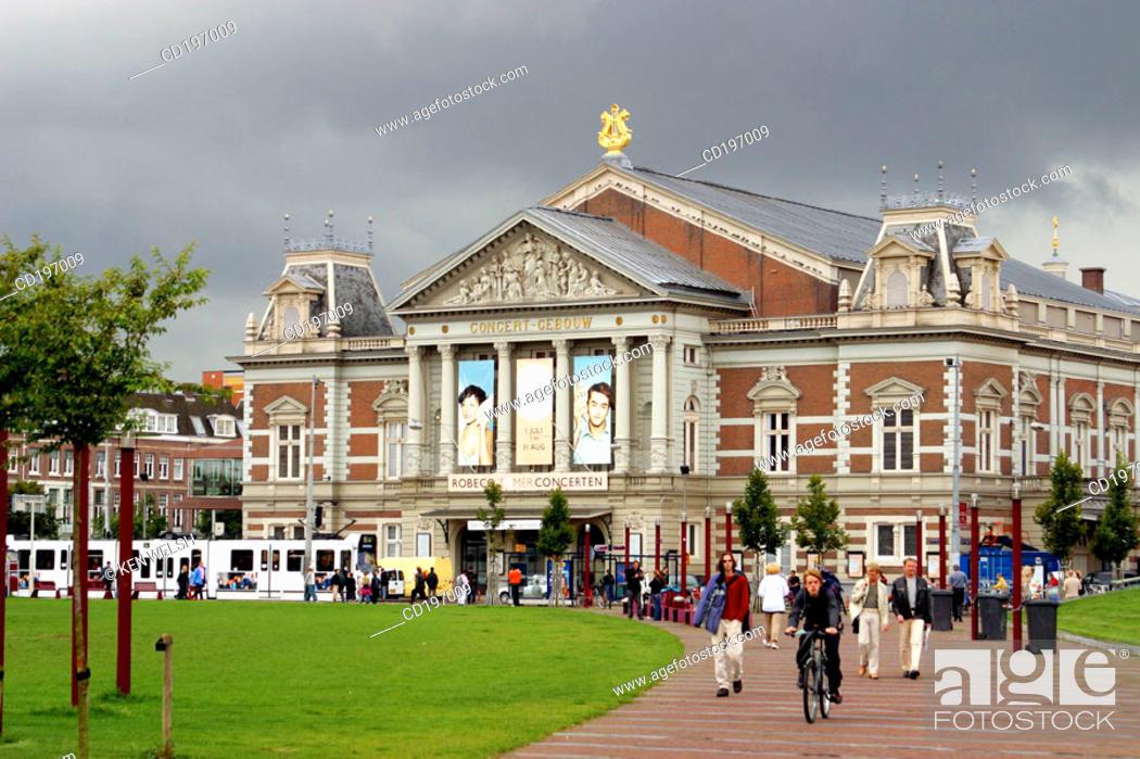 Stock Photo: Concertgebouw. Amsterdam. Holland.