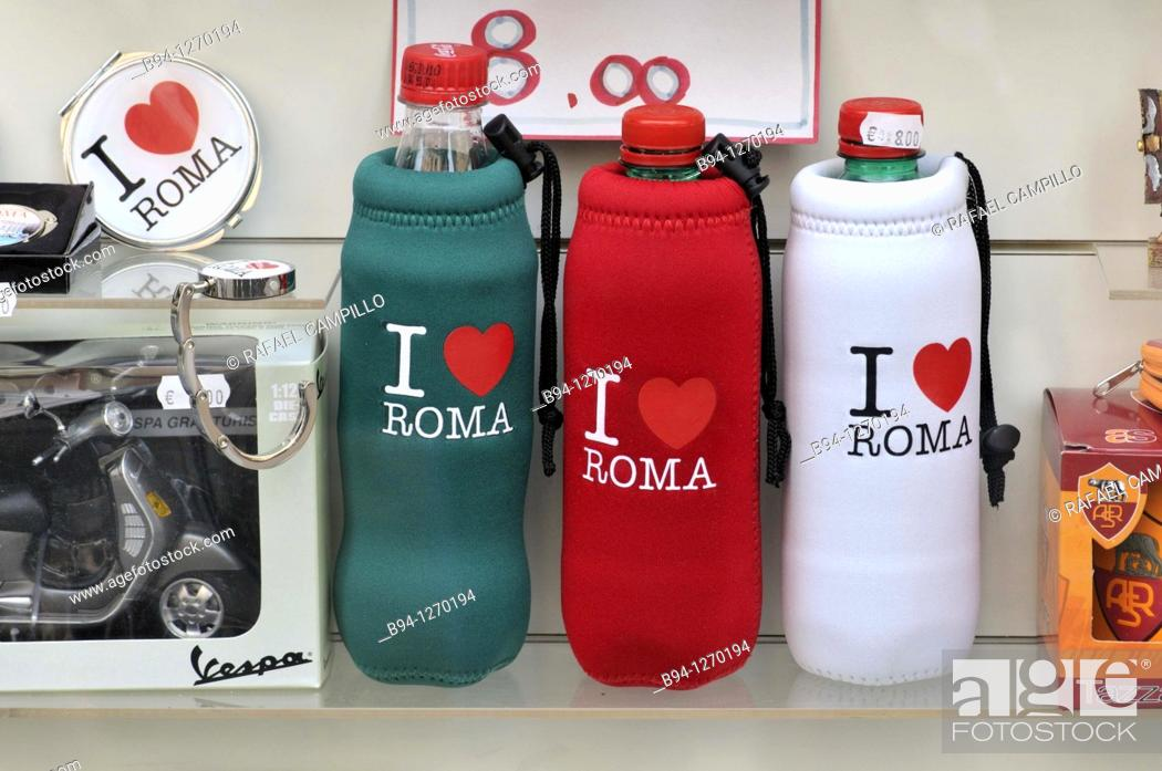 Stock Photo: Souvenirs. Rome, Italy.