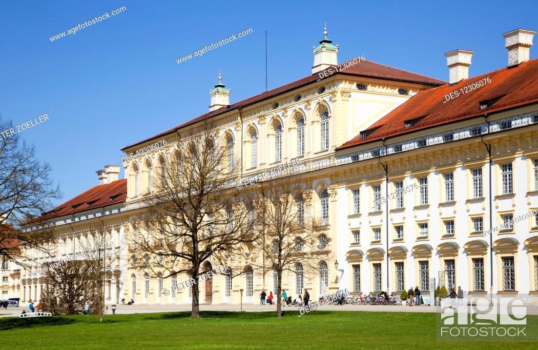 Stock Photo: Oberschleissheim Palace; Oberschleissheim, Bavaria, Germany.