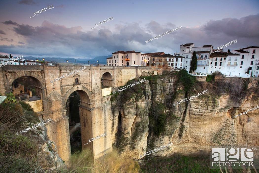 Stock Photo: Ronda, Spain.