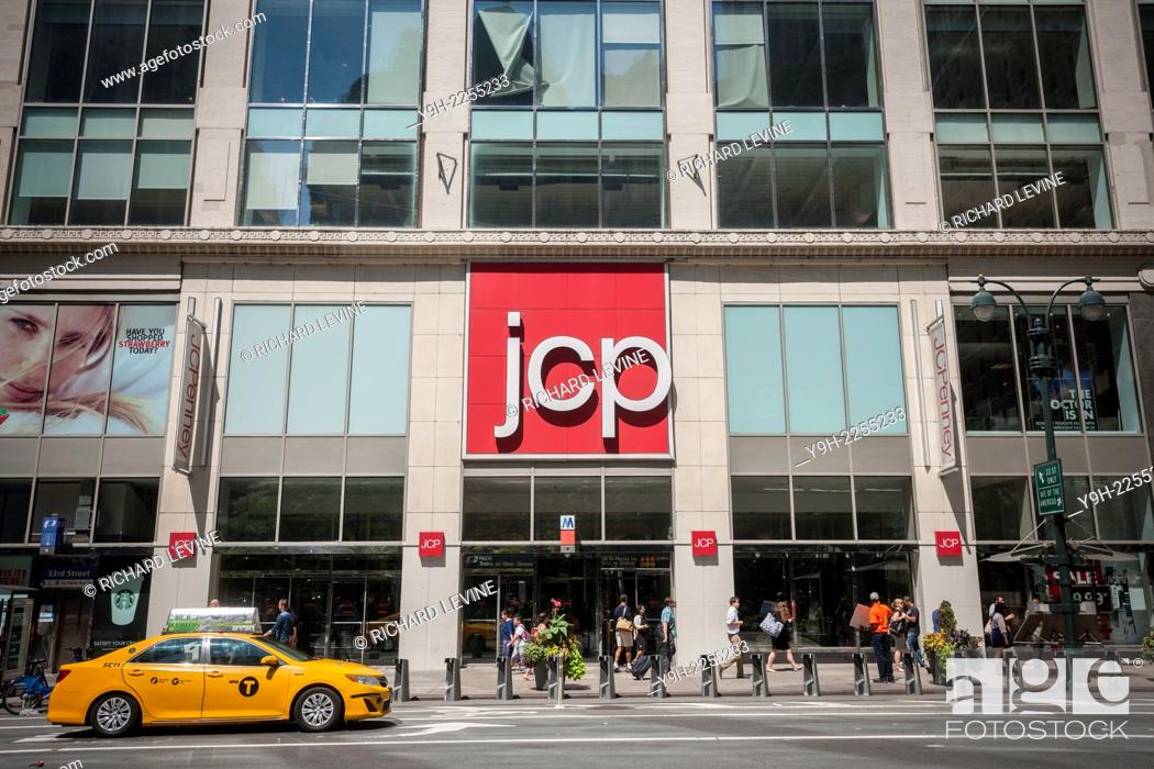 51b1079c0 Stock Photo - The Midtown Manhattan J.C.Penney department store in New York.