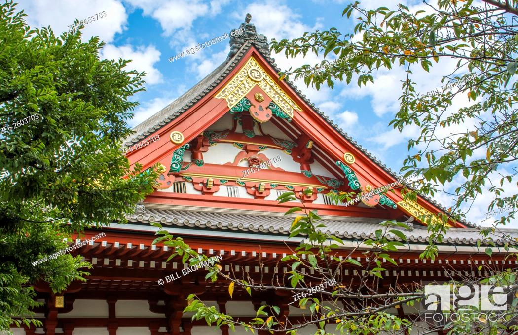 Stock Photo: Tokyo Japan Sensoji Temple at Tokyo's oldest temple and important built in 645 founded.