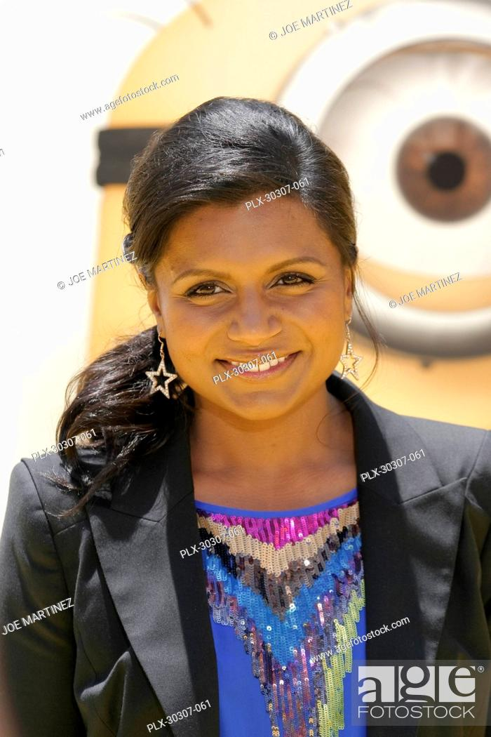 Mindy Kaling At The Premiere Of Universal Pictures Despicable Me Stock Photo Picture And Rights Managed Image Pic Plx 30307 061 Agefotostock
