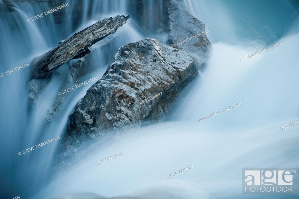 Stock Photo: Icefield falls 2.