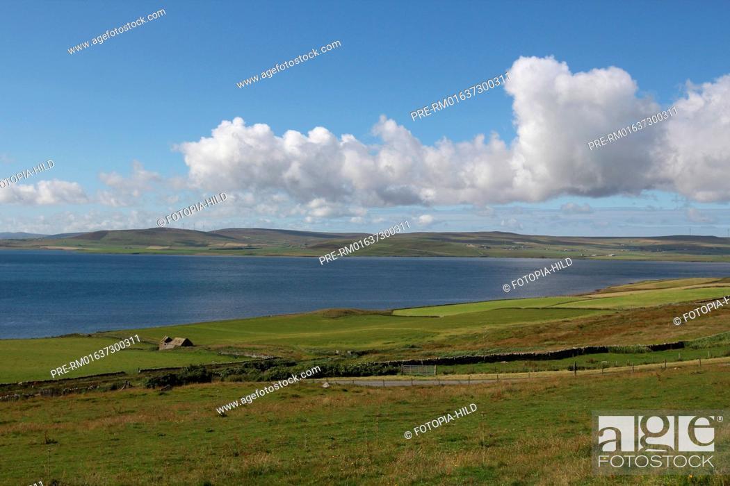 Stock Photo: Island of Rousay, Orkney Islands, Scotland, United Kingdom / Insel Rousay, Orkney Inseln, Schottland, Großbritannien.