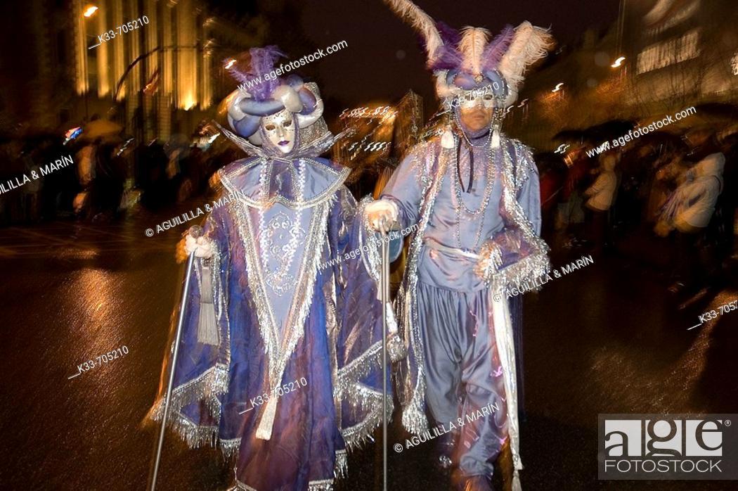 Stock Photo: Carnaval. Madrid. Spain.