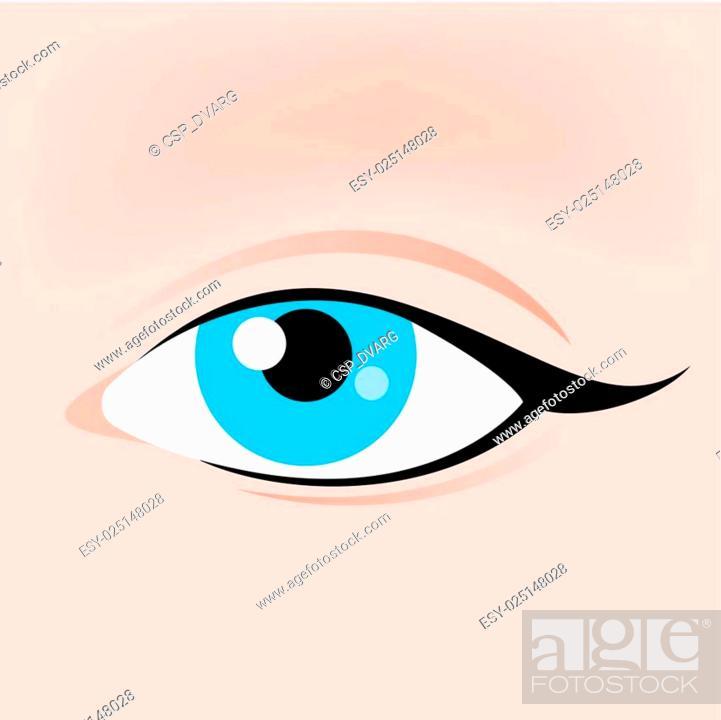 Stock Vector: Eye Icon.