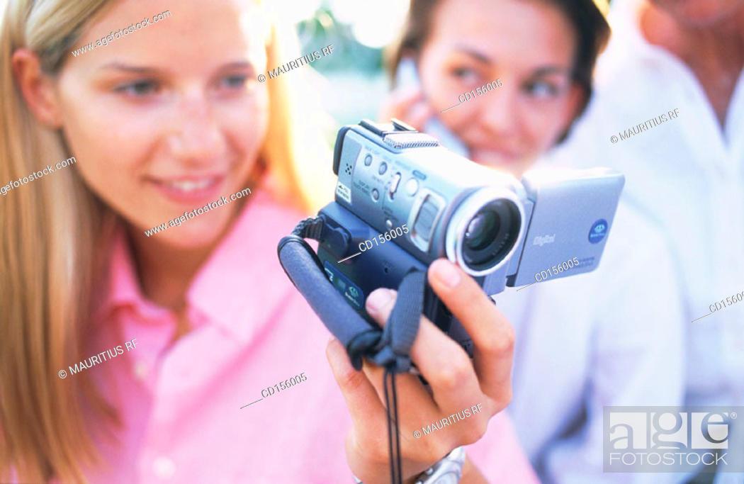 Stock Photo: Multimedia, Videotape, Curiosity.