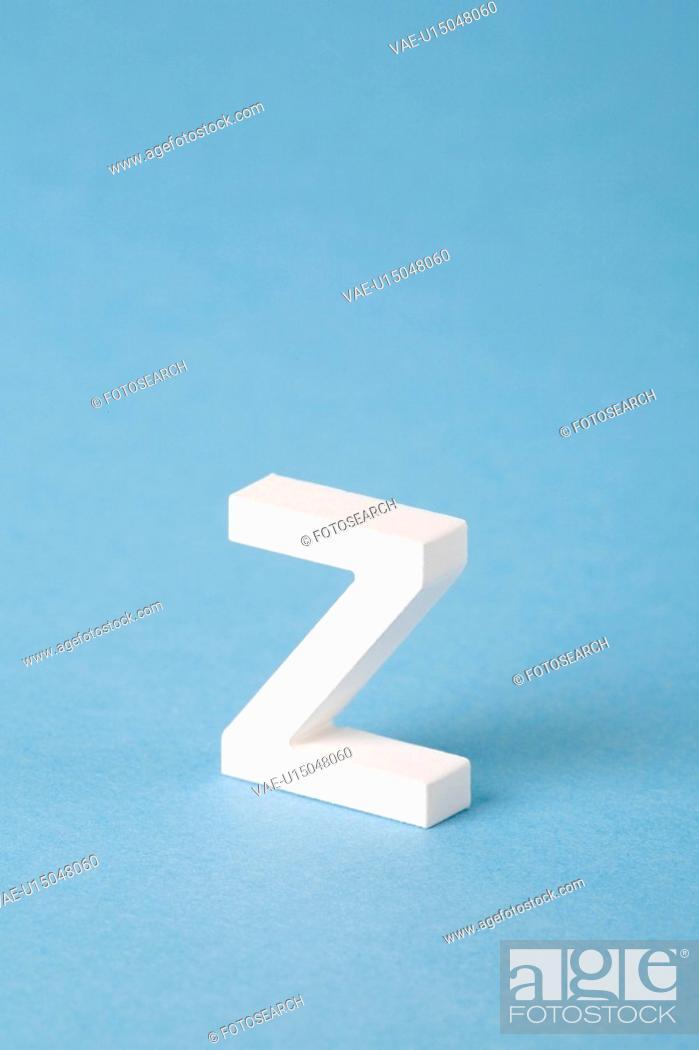 Stock Photo: Letter Z.