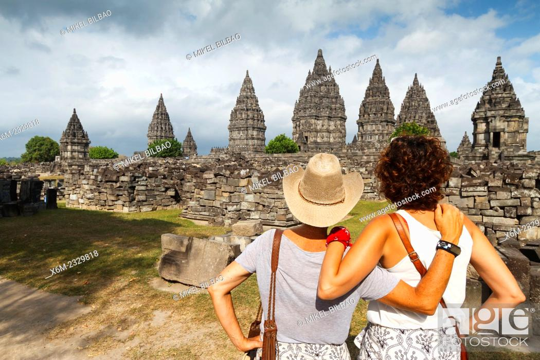 Stock Photo: Prambanan Hindu temple. Central Java. Indonesia, Asia.