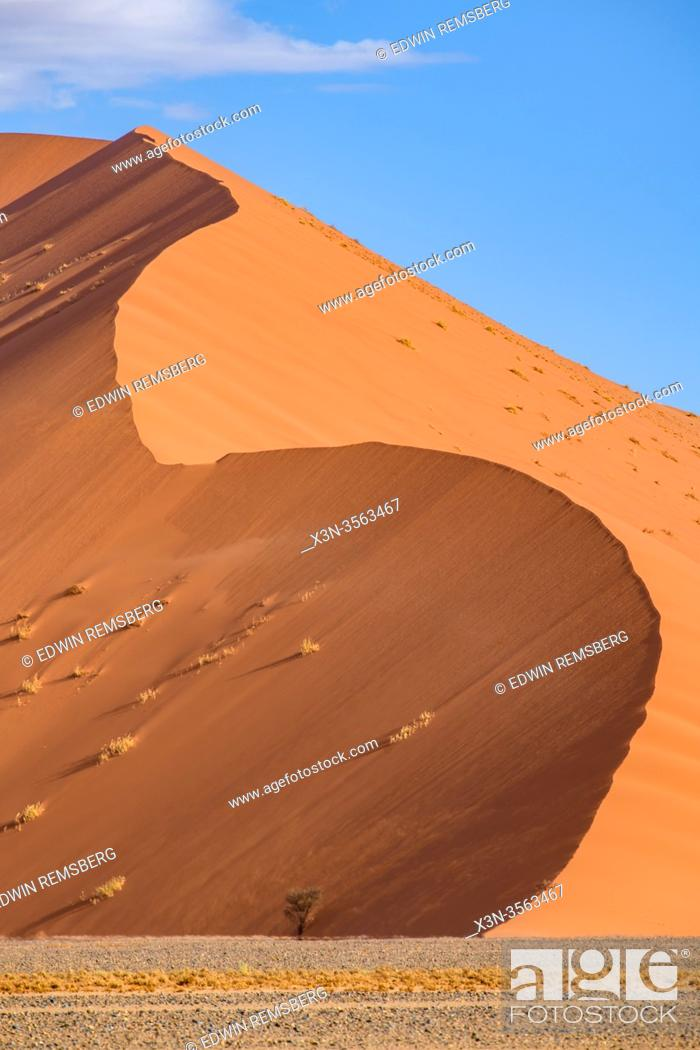Stock Photo: Sossusvlei , Namib-Naukluft National Park , Namibia.