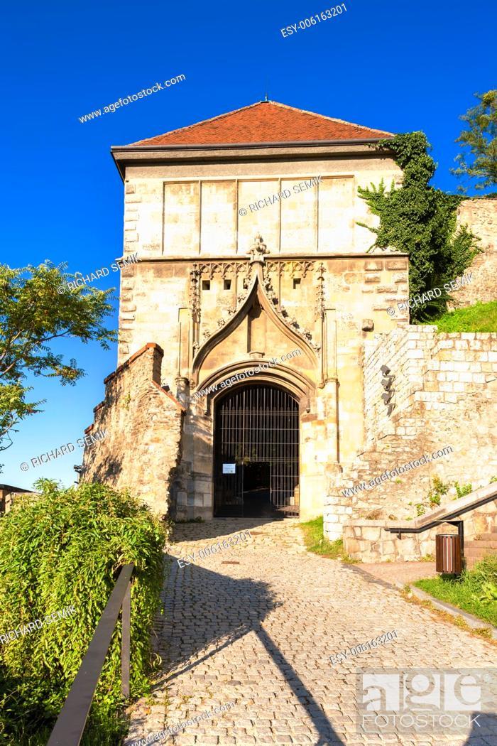 Stock Photo: Sigismund's Gate, Castle of Bratislava, Slovakia.