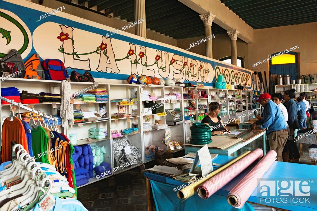 9e300e1b0 Peso store; Remedios, Cuba, Stock Photo, Picture And Rights Managed ...