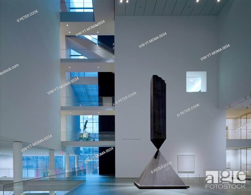 Stock Photo: MUSEUM OF MODERN ART NEW YORK, NEW YORK, UNITED STATES, Architect YOSHIO TANIGUCHI AND ASSOCIATES.