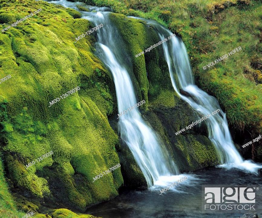 Stock Photo: Cascade waterfall.