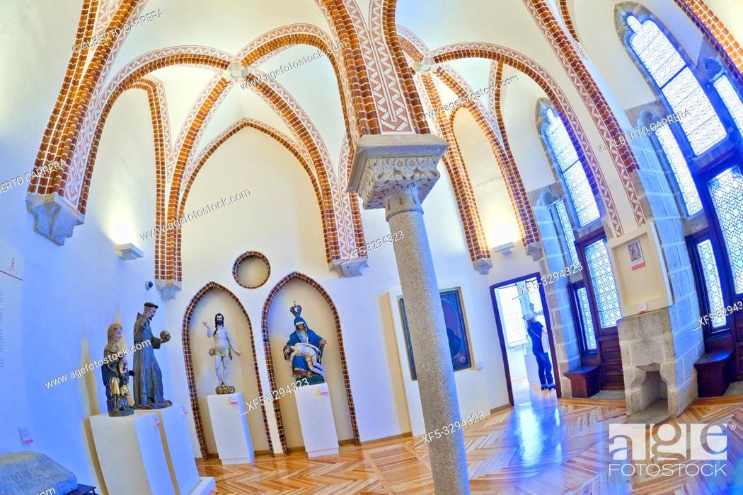 Imagen: Episcopal Palace of Astorga, Palace of Gaudí, 19th Century Neogothic Style, Spanish Property of Cultural Interest, Astorga, León, Castilla y León, Spain, Europe.