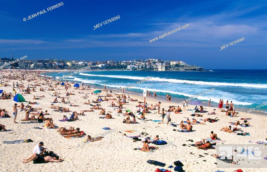 Stock Photo Australia Bondi Beach S Most Famous