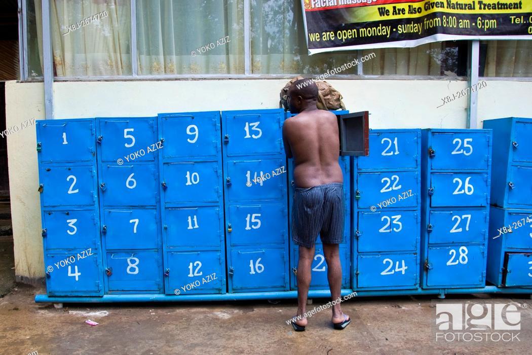 Stock Photo: Wendo Genet hot springs, Ethiopia.