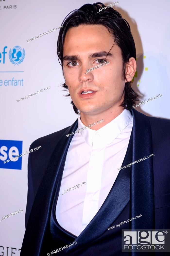Stock Photo: PARIS, FRANCE - JUNE 03: Alain Fabien Delon attends the Global Gift Gala 2019 at Four Seasons Hotel George V on June 03, 2019 in Paris, France.