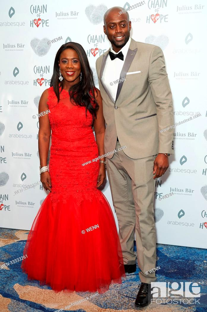 Stock Photo: Celebrity arrivals on the red carpet for the Chain of Hope Gala Ball 2017 Featuring: Tessa Sanderson Where: London, United Kingdom When: 17 Nov 2017 Credit:.