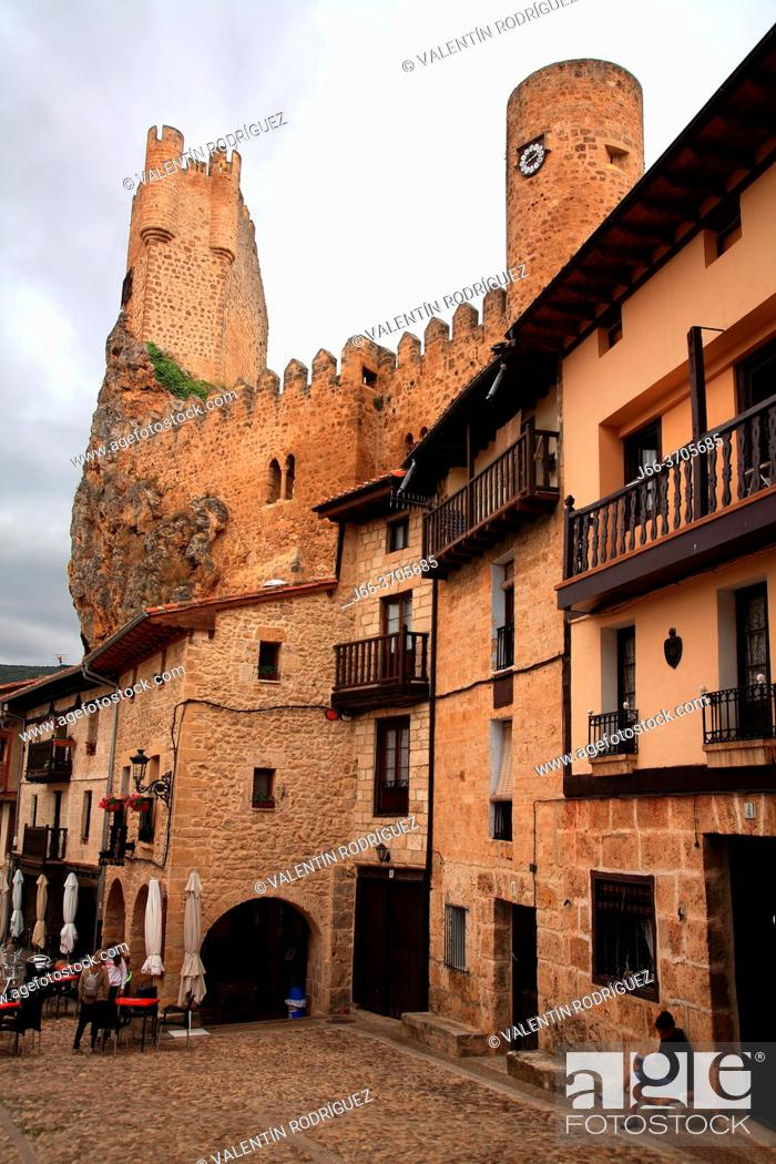 Photo de stock: Castle of Frías. Burgos.