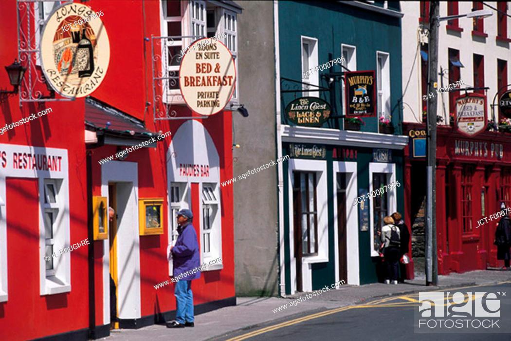 Stock Photo: Ireland, Dingle.