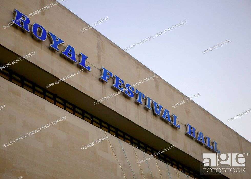 Imagen: Royal Festival Hall building on the South Bank.