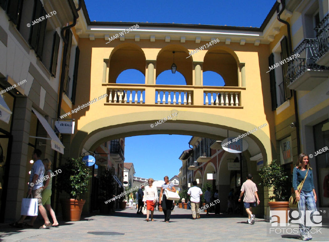 italy, piemonte, serravalle outlet, Stock Photo, Picture And Rights ...