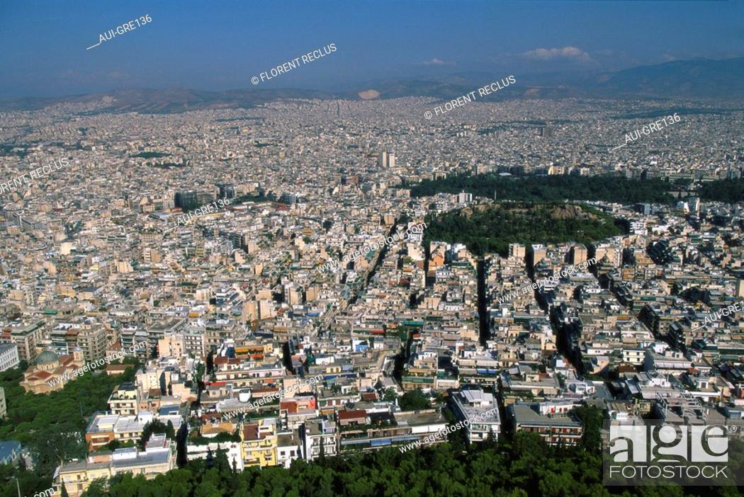 Stock Photo: Greece - Athens - Overall view.