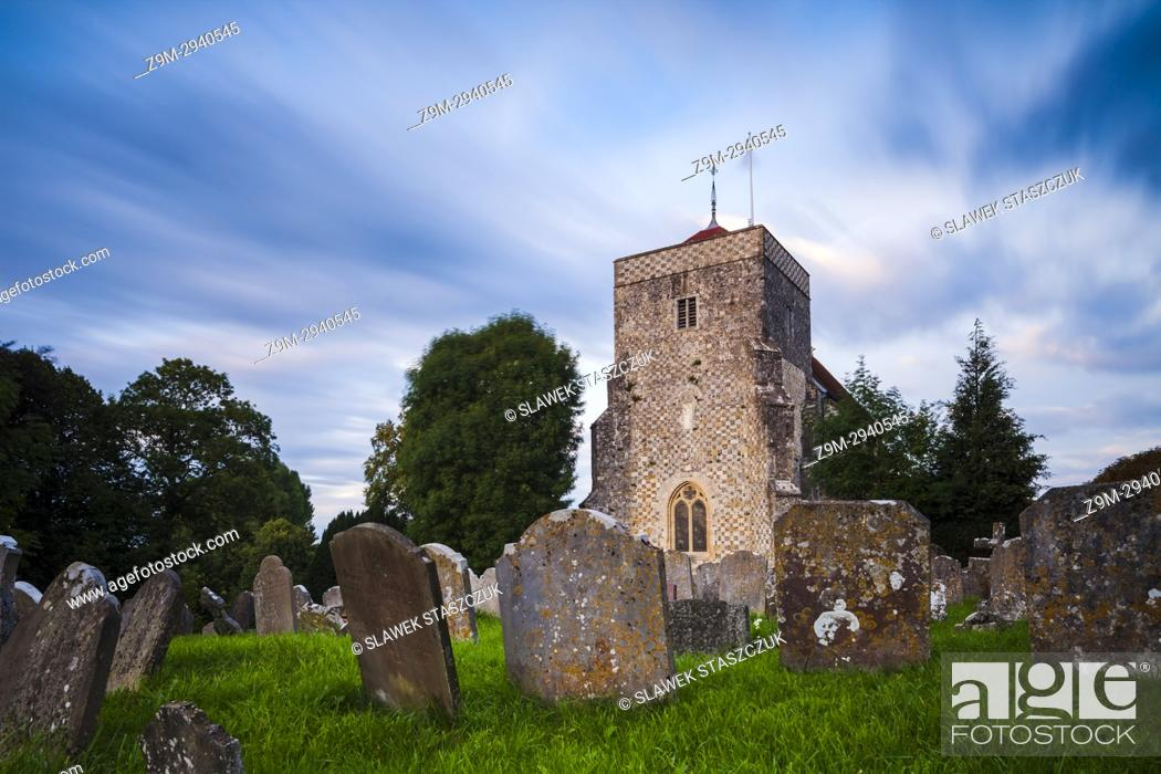 Imagen: St Andrew's church in Steyning, West Sussex, England.