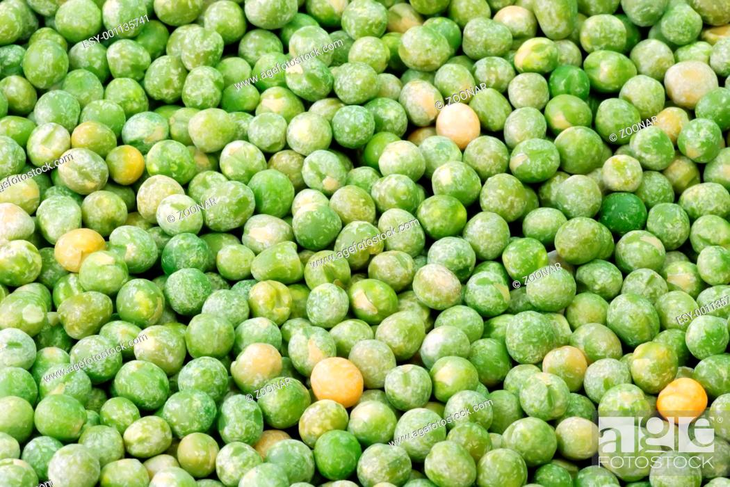 Stock Photo: peas.