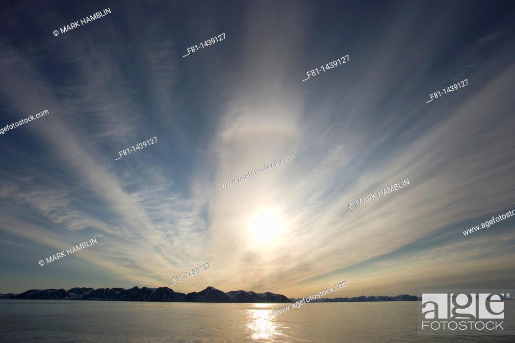 Stock Photo: Svalbard, Norway, July 2007.