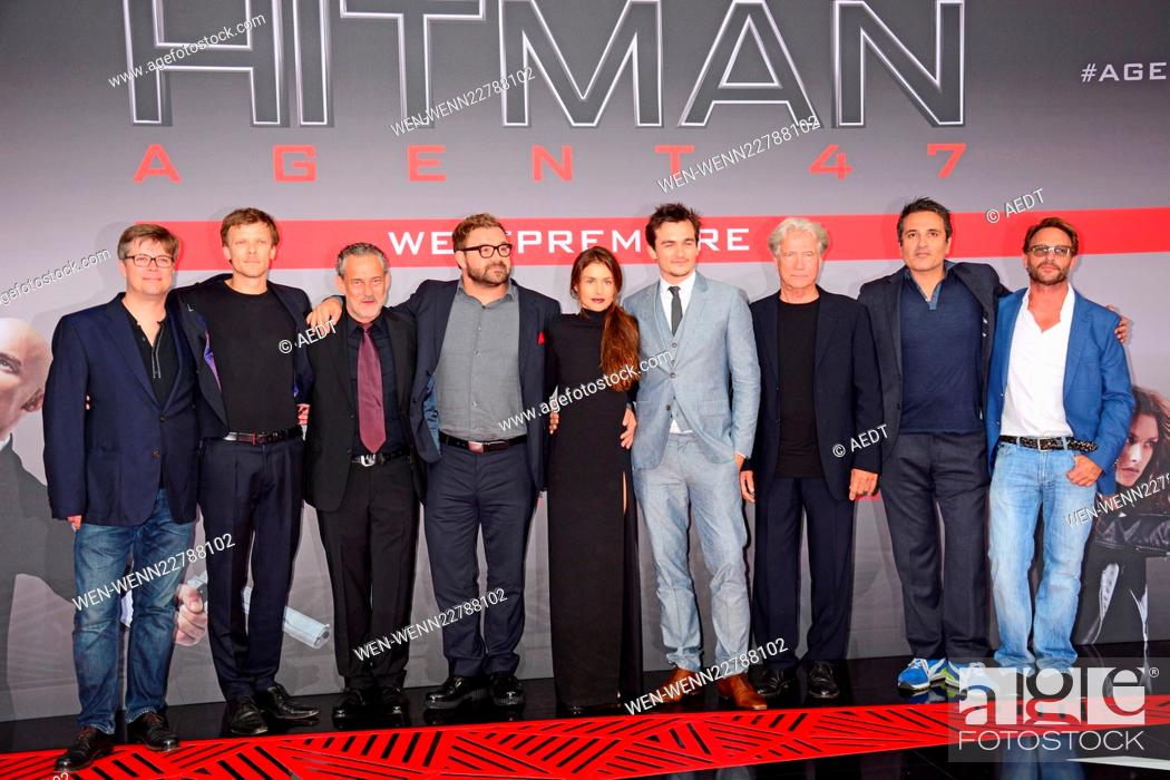 Premiere Of The Film Hitman Agent 47 In The Cinestar Movie