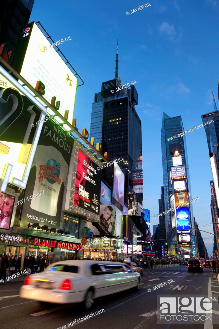 Stock Photo: Times Square, New York, USA.