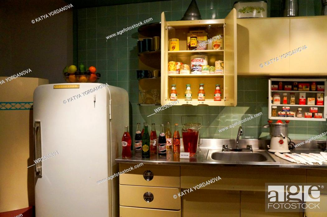 Stock Photo: Old-fashioned kitchen.