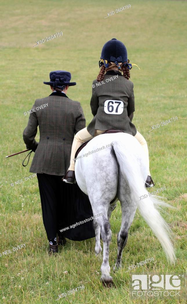 Stock Photo: Horse Show, Horsham, Sussex, England.