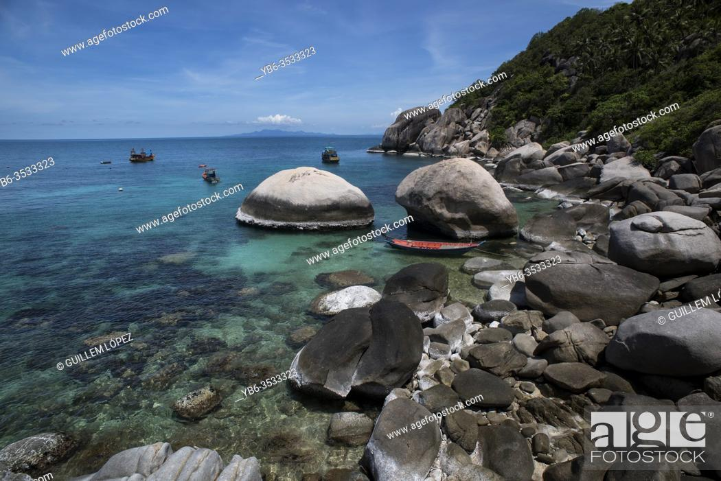 Stock Photo: Koh Tao, Thailand.