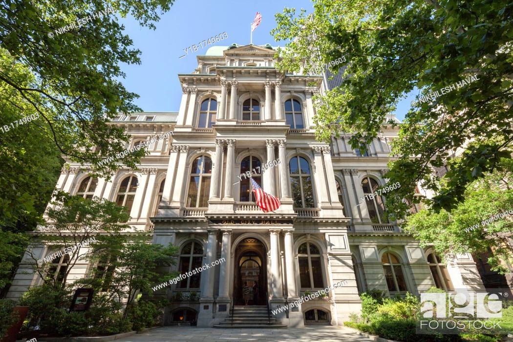 Stock Photo: Boston Old City Hall.
