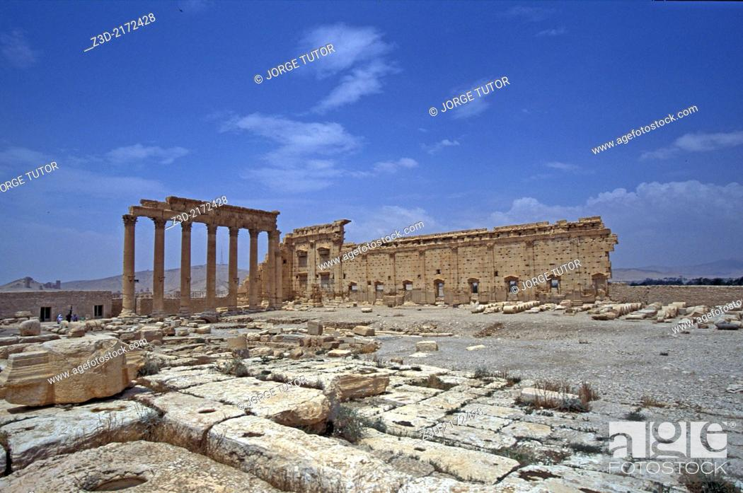 Imagen: Temple of Bel, Palmyra, Syria.