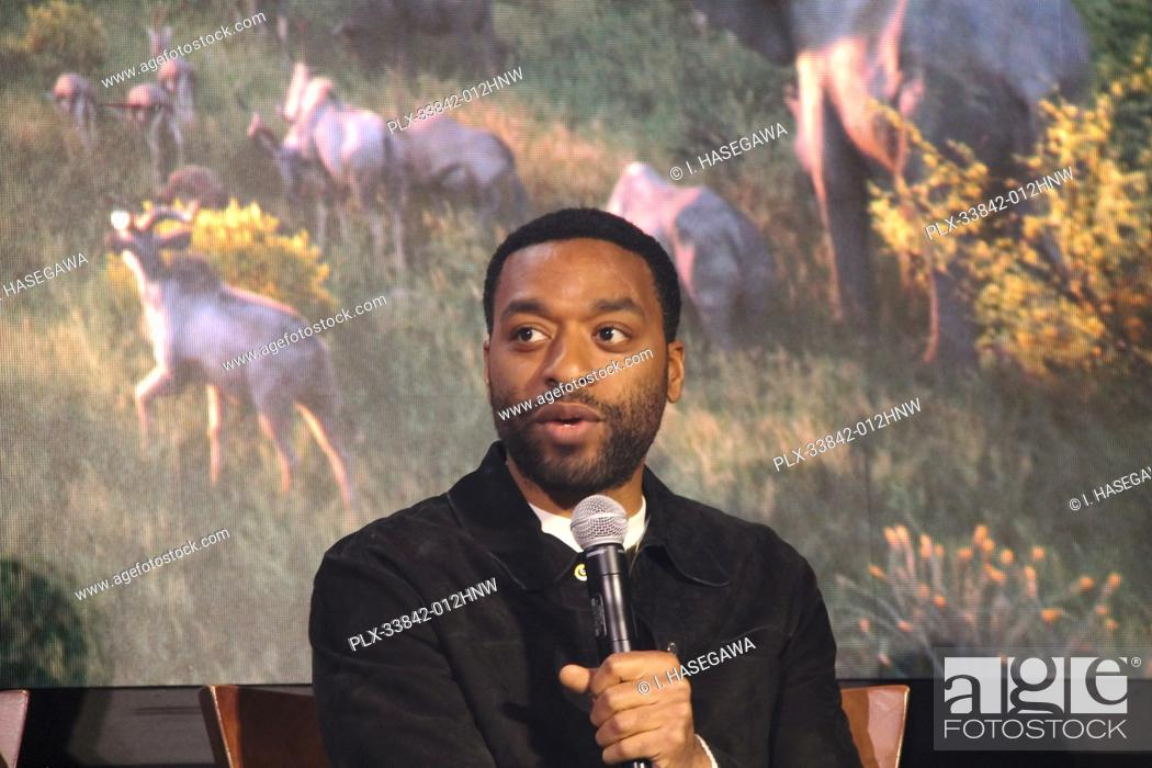 "Stock Photo: Chiwetel Ejiofor 07/10/2019 """"The Lion King"""" Press Conference held at the Montage Beverly Hills Luxury Hotel in Beverly Hills, CA. Photo by I."